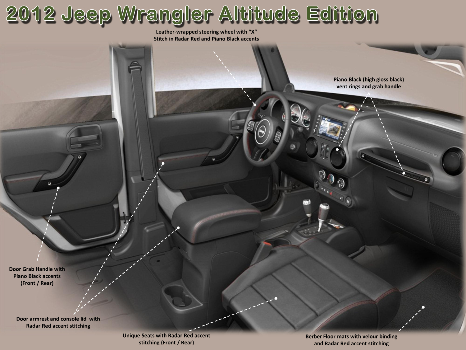 The Limited Edition 2012 Jeep Wrangler And Wrangler