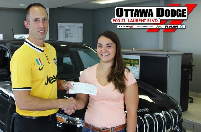 Ottawa Dodge 4-H Scholarship